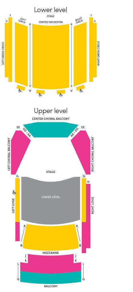 jemison concert hall seating
