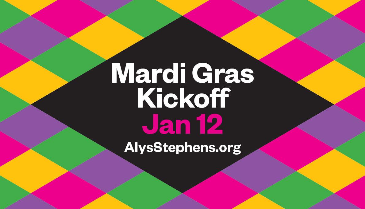 Artasting Mardi Gras Alys Stephens Performing Arts Center