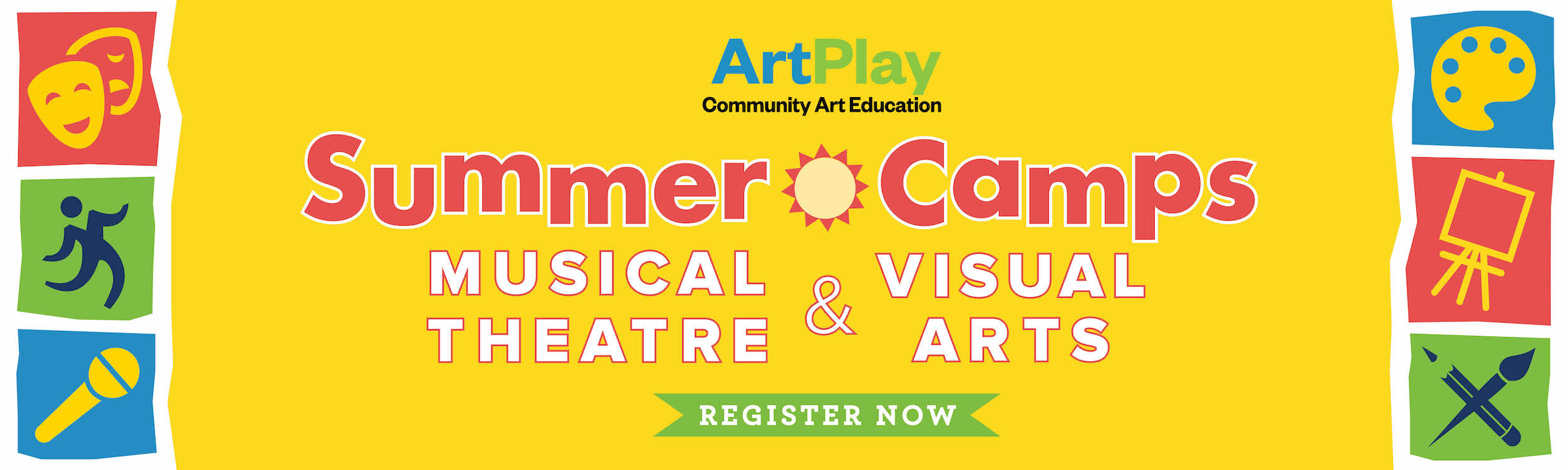 Click HERE to register for ArtPlay Summer Camps!
